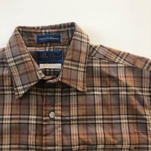 Vtg Pen-West Pendleton Country Traditionals Shirt